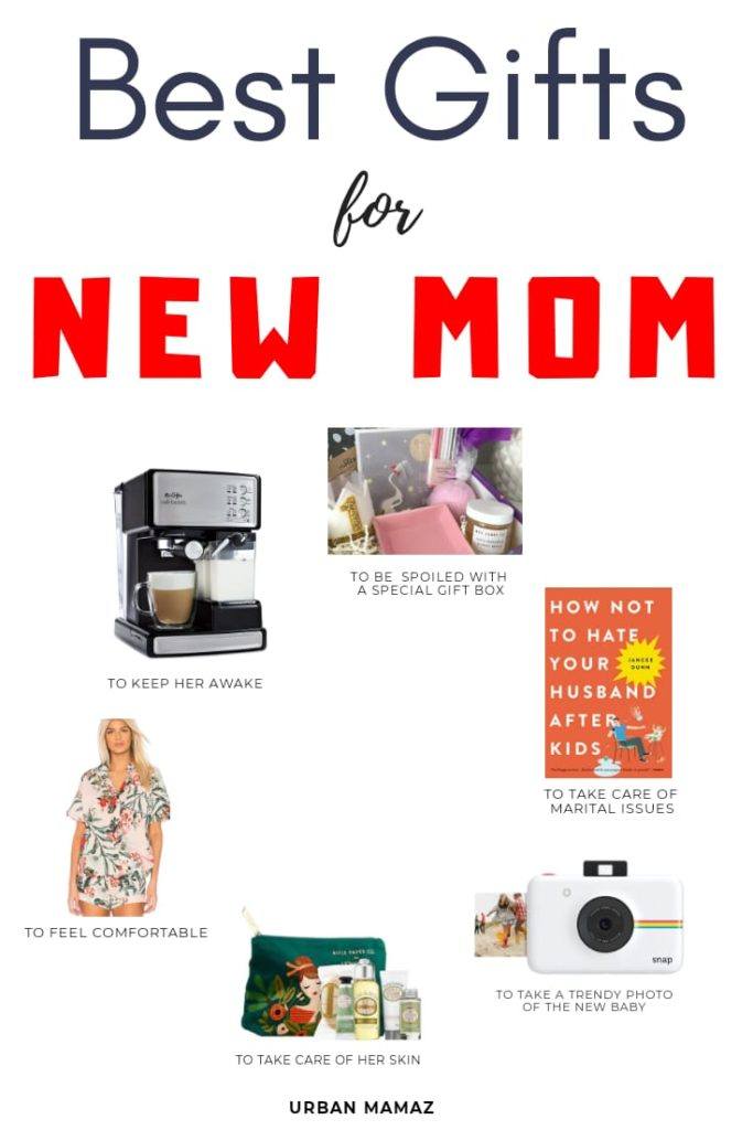 6 Best Gifts For A New Mom Urban Mamaz Blog