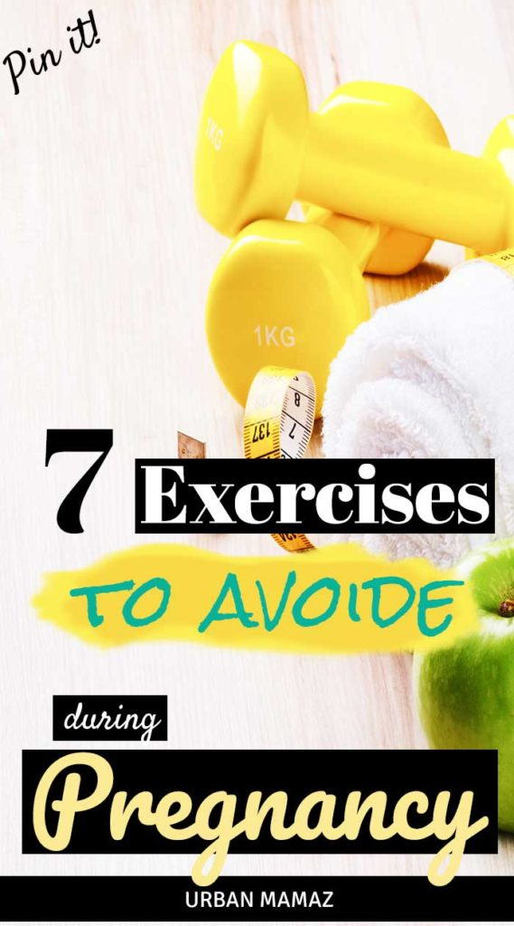 Pregnancy Exercises - What to avoid during pregnancy - Urban